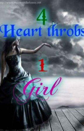 Characters of 4 heart throbs, 1 girl by FishyGirl