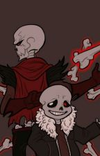 Underfell Sans X Papyrus  (Request) by gonnakillmyself01
