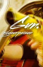 Gun. [Frerard] by xoTragician