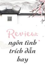 List Ngôn Tình - Trích Dẫn Hay by Gemmie_nhiho