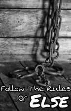 Follow The Rules Or Else  by BlueGreenandPurple