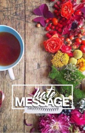hate message by bycaroline