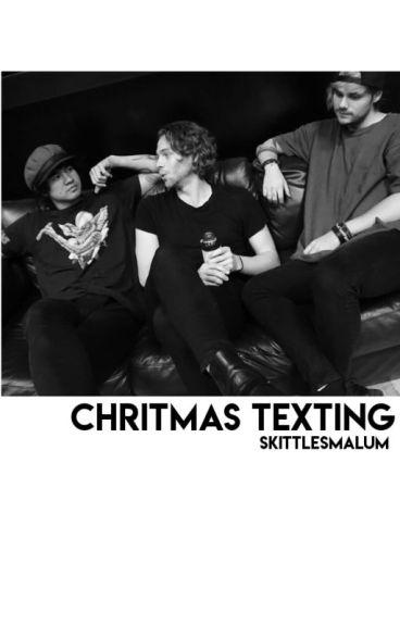 christmas texting ; malum ; pl