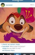 Instagram y otros (Disney, Dreamworks, etc...) by KristannaEugenzel