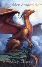 The Golden Dragon Rider by BlackRaven20