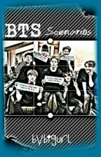 BTS Scenarios II by MirasolVelarde