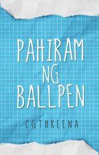 Pahiram ng ballpen (One Shot) by cgthreena