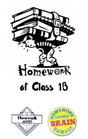 Homework of Class 1B by YongStan