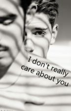 I don't really care about you. by eselarius