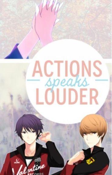 Actions Speaks Louder ~Senoo Tasuku x Reader x Suwa Reiji~