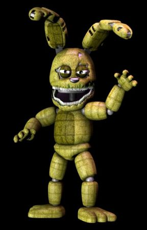 Fnaf 4 x nightmare animatronic reader by Toy_Wolfie_The_Wolf