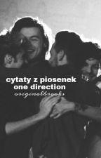 Cytaty z piosenek One Direction by originalbrooks