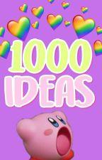 1000 ideas para escribir en Wattpad by EYopPop