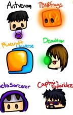 MineCraft Youtubers X reader by DJ-Kaite_butterfly
