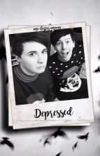 Depressed // Phan Texting by mo-lester-moon