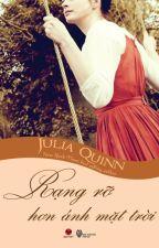 Rạng rỡ hơn ánh mặt trời - Julia Quinn by Adriana_BJ