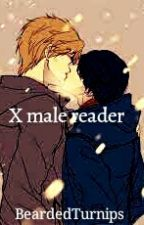 Male X MALE Reader by Bearded_Turnips