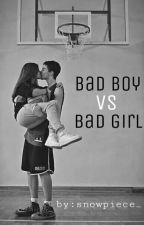 Bad Boy VS Bad Girl by snowpiece_