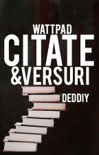 Citate si versuri by Deddiy