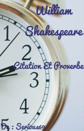 Citation Et Proverbe De William Shakespeare Et Autres