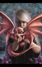 La fille dragon by Fiofio_