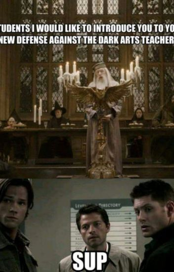 """Welcome to your first Hunting class""(Supernatural // Harry Potter crossover)"
