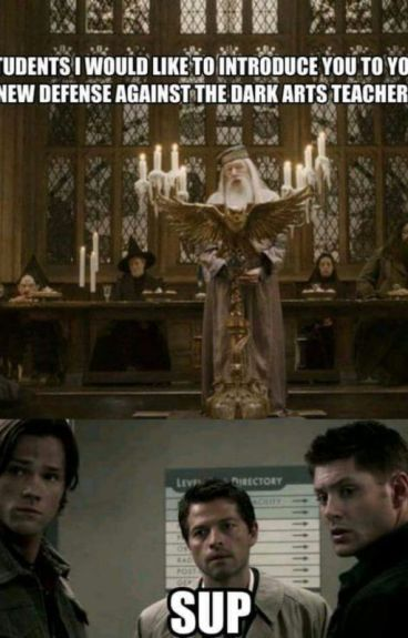 """""""Welcome to your first Hunting class""""(Supernatural // Harry Potter crossover)"""