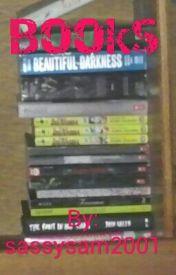 Books by sassysam2001