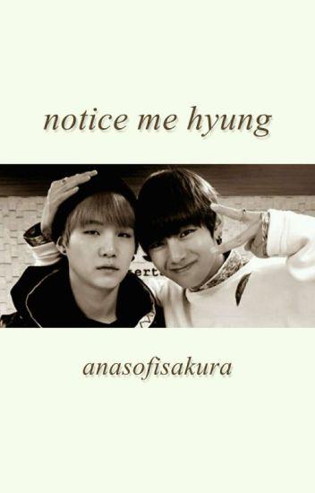 notice me hyung; taegi