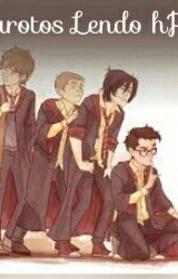 Os Marotos lendo Harry Potter e a Ordem da Fenix