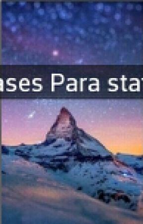 Frases Para Status A Estrada Da Vida Wattpad