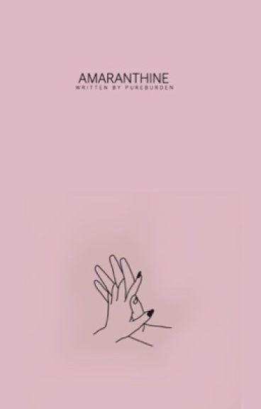 Amaranthine. »Cody Christian. |S.U|
