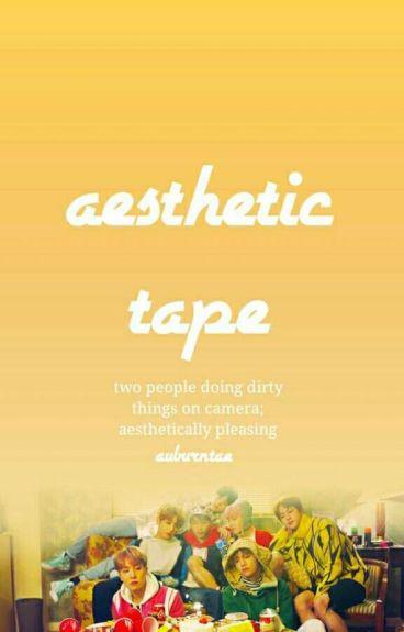 aesthetic tape - vkook
