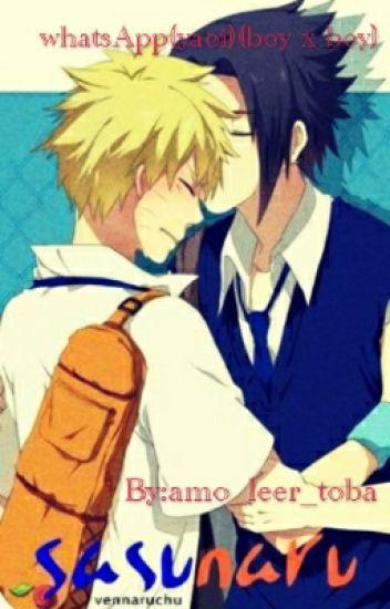 WhatsApp Naruto(yaoi)(boy X Boy)