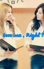 SHORTFIC - SEULRENE - LOVE ME , RIGHT ?! by justzen1502