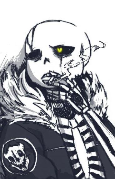 The Skelly Badboy(Gaster!SansxReader)