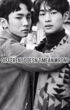 Different doesn't mean Wrong by richjinki