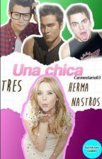 Una Chica, Tres Hermanastros by carmeelario03