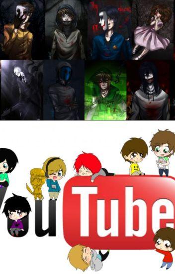 reaciones de creepypastas y youtubers