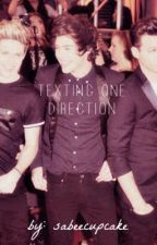 Texting One Direction by SabeeCupcake