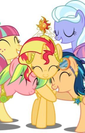 AU MLP& AU MLP Equestria Girls X Reader - AU Twilight