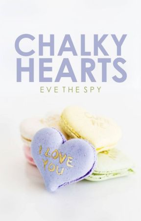 Chalky Hearts by evethespy