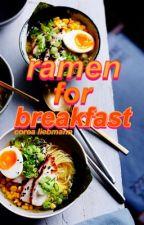 ramen for breakfast by Corea_Liebmann