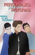 Personajes Para Tus Novelas. by maribel2402