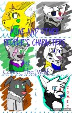 Characters & More by Comic_The_Wolf