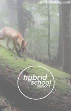 Hybrid School ♡ MiniCat by thepandaispurple