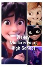 Modern Four: High School by CupcakeMarshmellow12