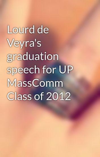 graduation speech lourd de veyra