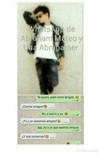 WhatsApp De Abraham Mateo Y Una Abrahamer by Carina_Abrahamer