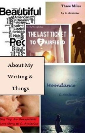 About My Writing & Things - 100 Word Scream - Wattpad
